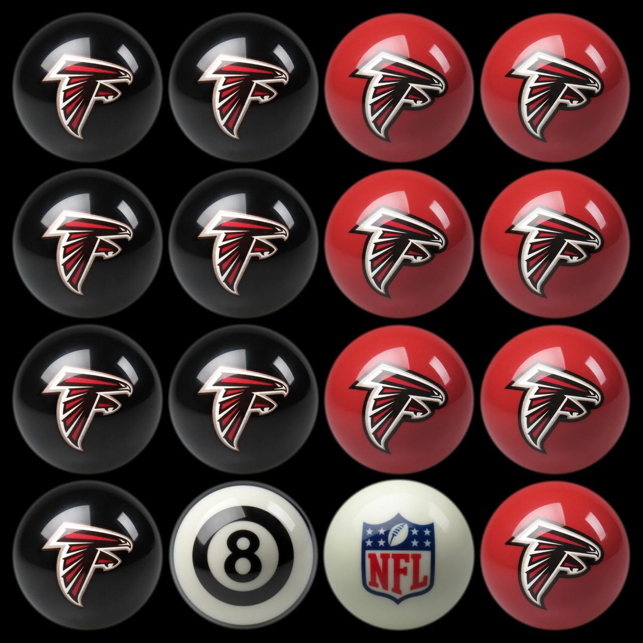 Atlanta Falcons Pool Balls