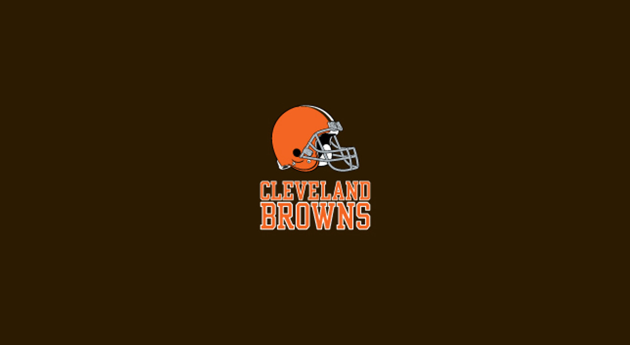Cleveland Browns Pool Table Felt for 8 foot table