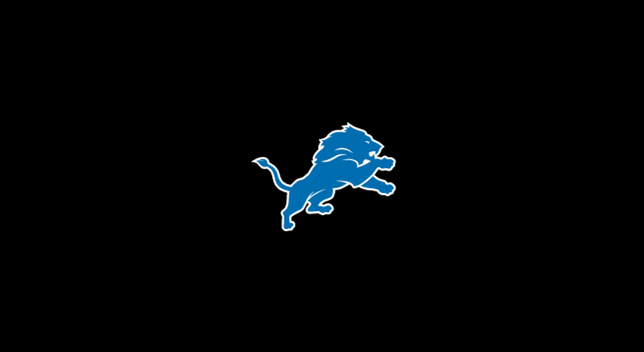 Detroit Lions Pool Table Felt for 8 foot table