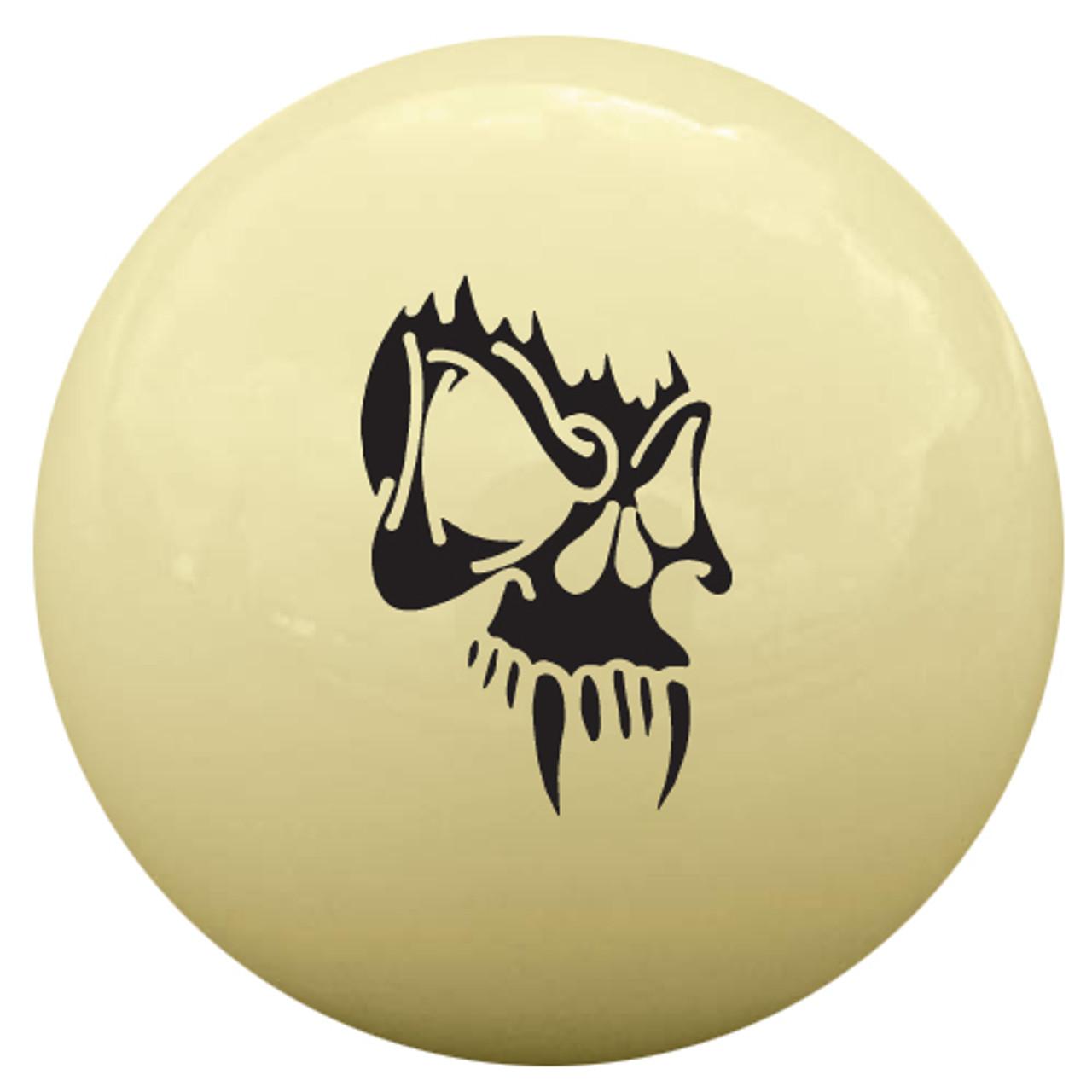 Fang Skull Cue Ball