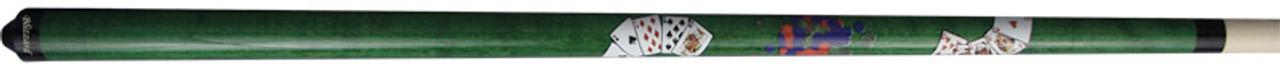 Blizzard Poker Cue - Green