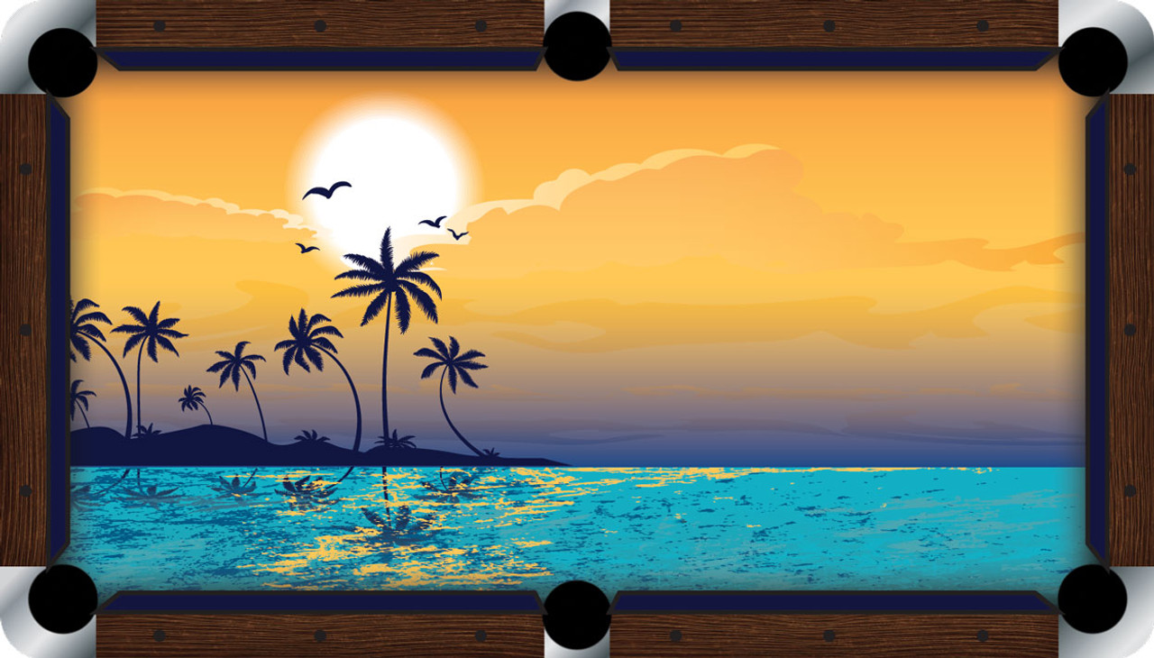 VIVID Paradise 9' Pool Table Felt