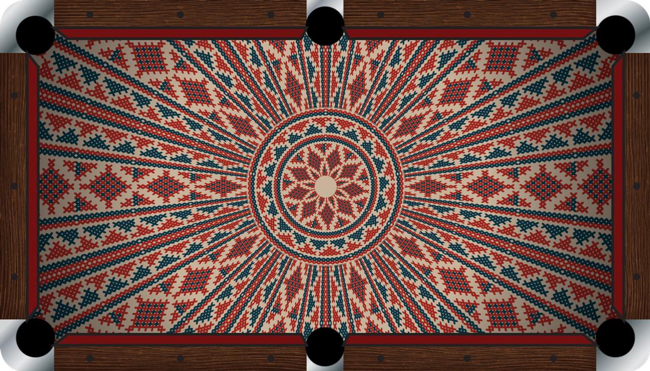 VIVID Ancient 7'/8' Pool Table Felt