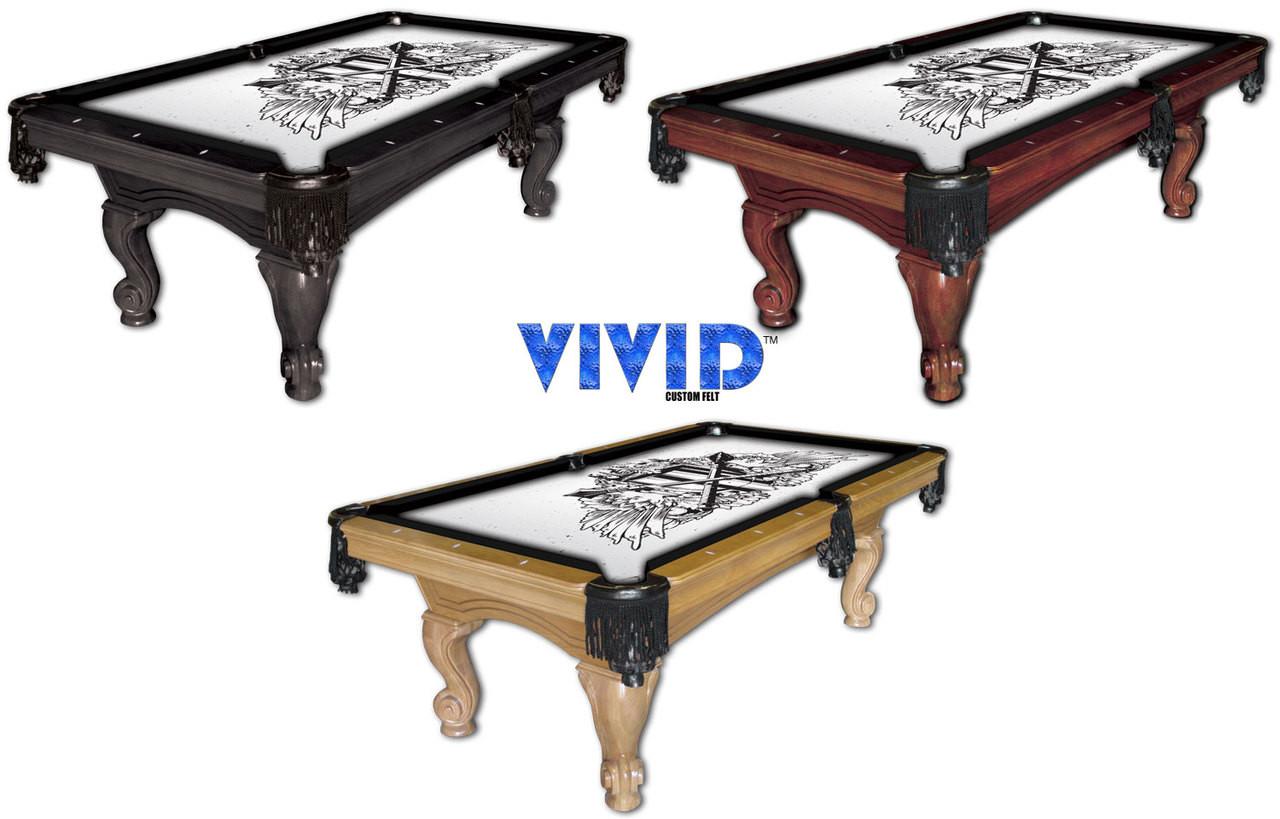 VIVID Kingdom 9' Pool Table Felt