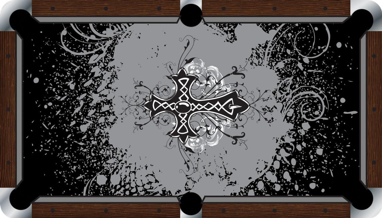 VIVID Cross 9' Pool Table Felt