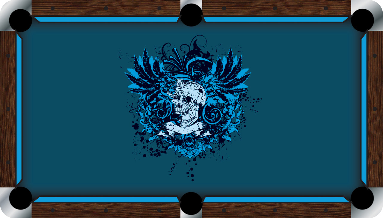 VIVID Dangerous 7'/8' Pool Table Felt