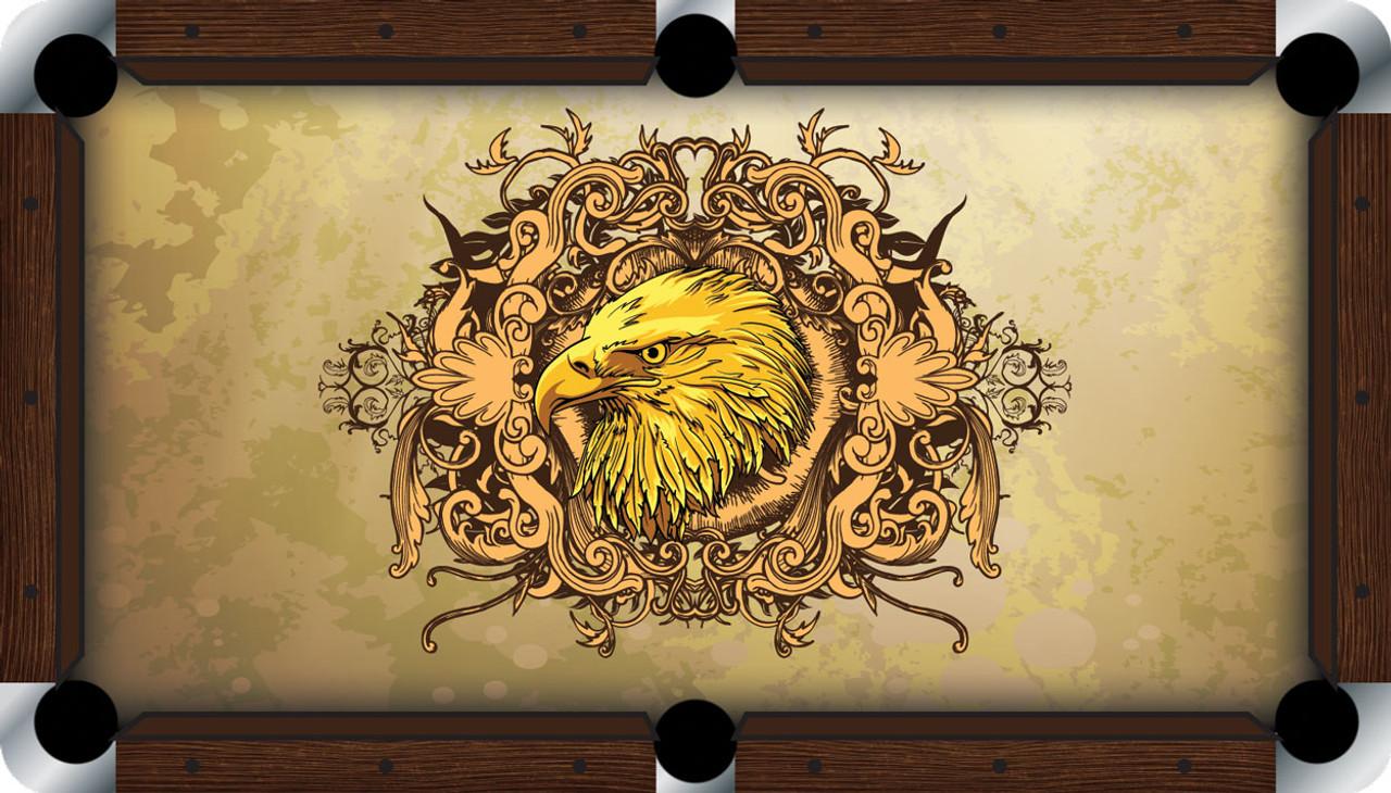 VIVID Golden Eagle 9' Pool Table Felt