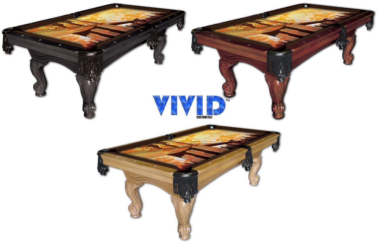 VIVID Brooklyn 9' Pool Table Felt