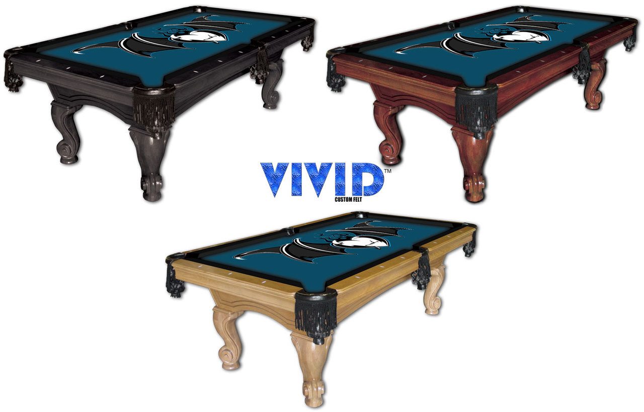 VIVID Winged Heart 9' Pool Table Felt