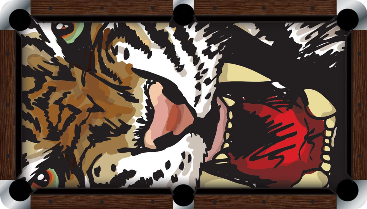VIVID Roaring Tiger 7'/8' Pool Table Felt