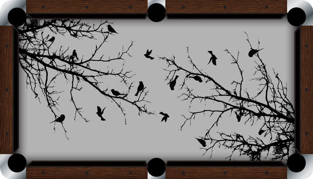 VIVID Birds of a Feather 9' Pool Table Felt
