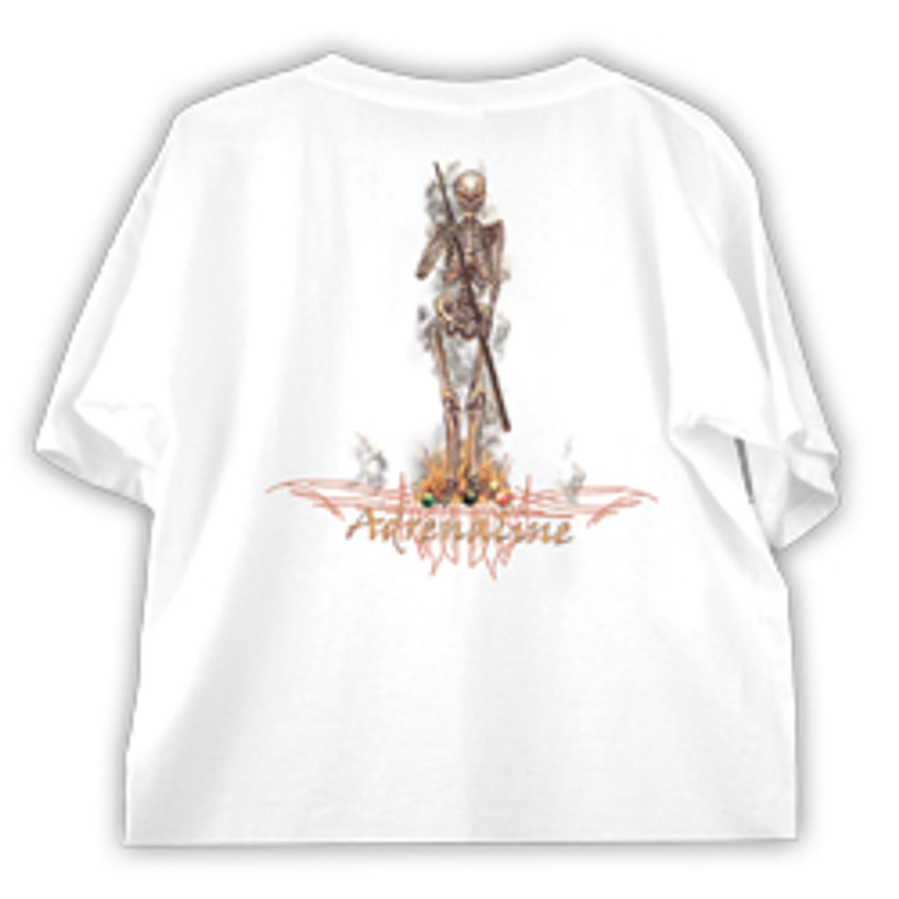 """Adrenaline """"Skeleton"""" T-Shirt"""