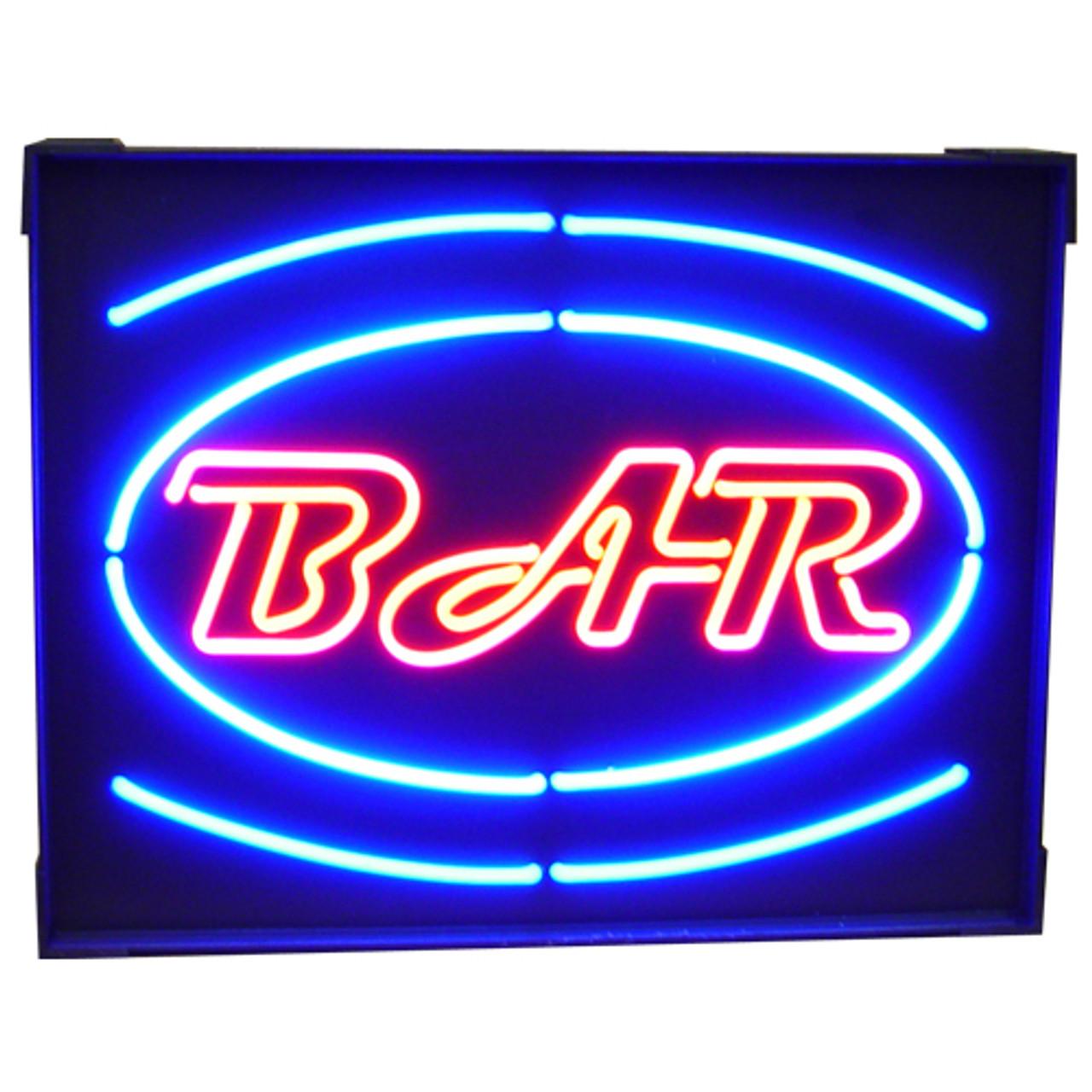 """""""Bar"""" Neon Sign"""