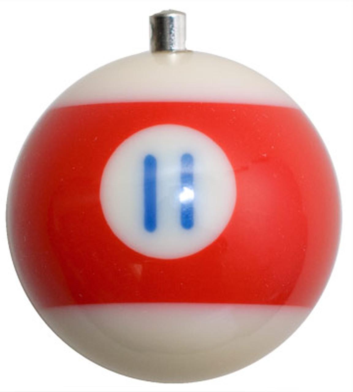 Billiard Ball Christmas Tree Ornaments - #11