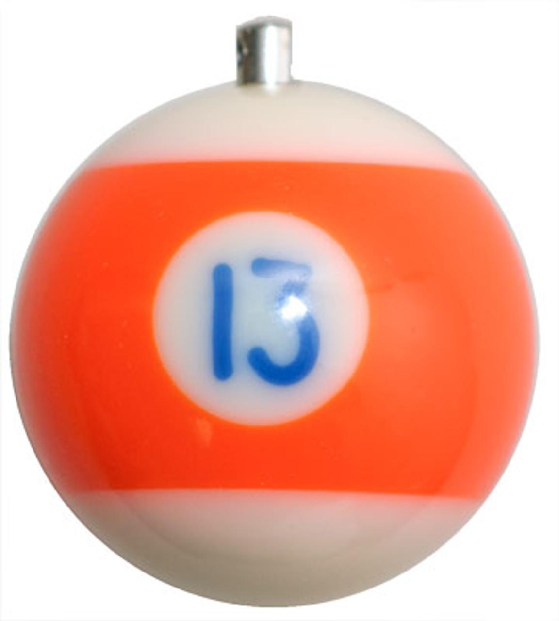 Billiard Ball Christmas Tree Ornaments - #13