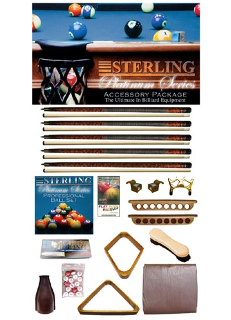 Sterling Platinum Series Accessory Package, Oak