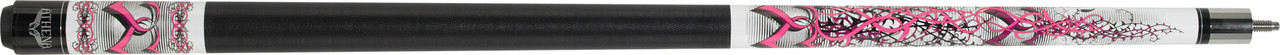 Athena - Pink Barbed Hearts - ATH42 Pool Cue