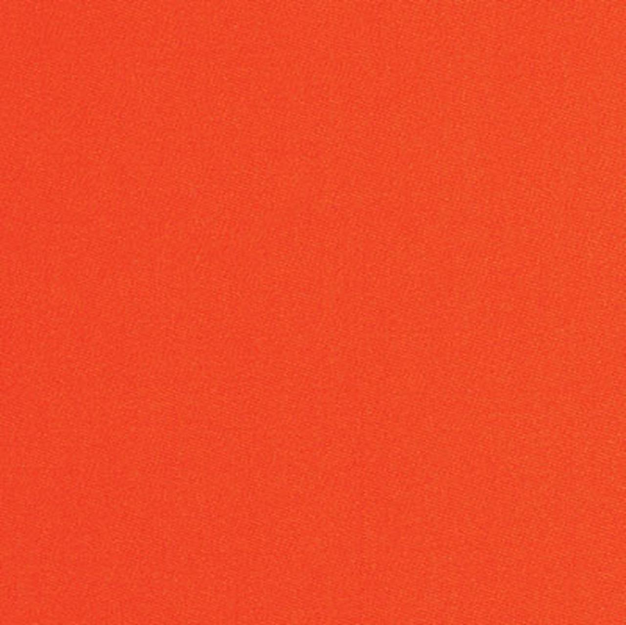 Simonis 860 Orange Pool Table Felt - 7ft