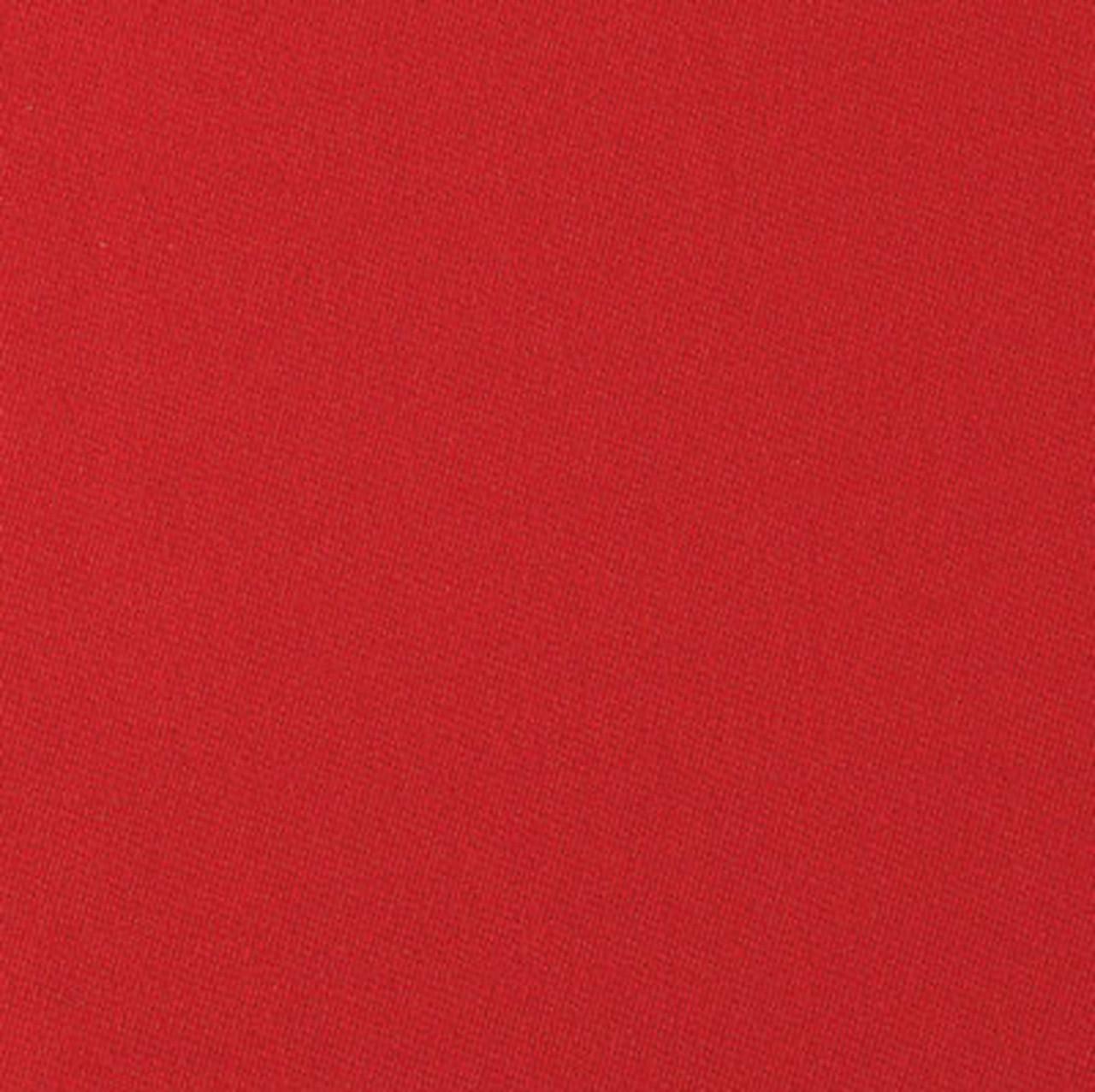 Simonis 860 Red Pool Table Felt - 7ft