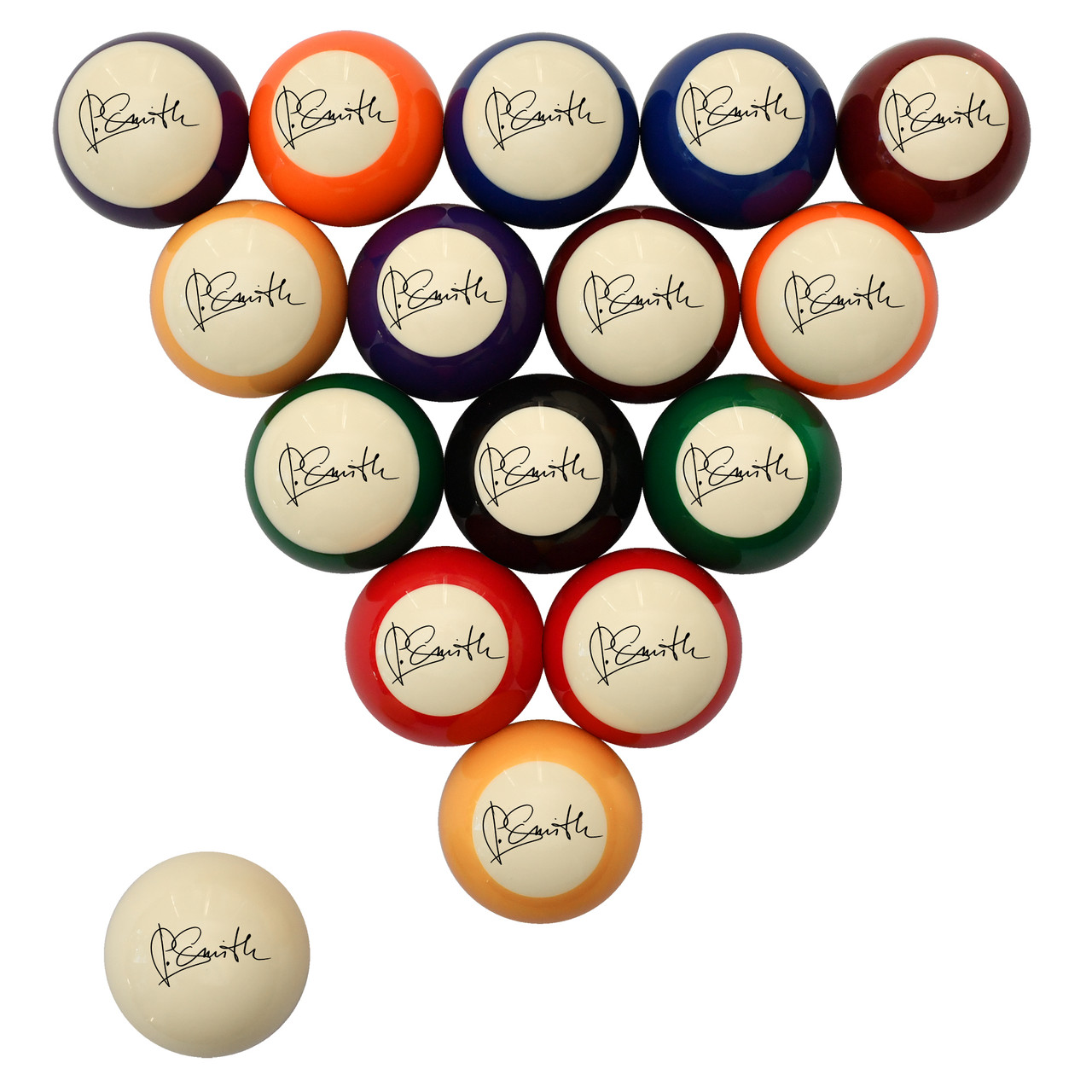 Custom Signature Billiard Ball Set
