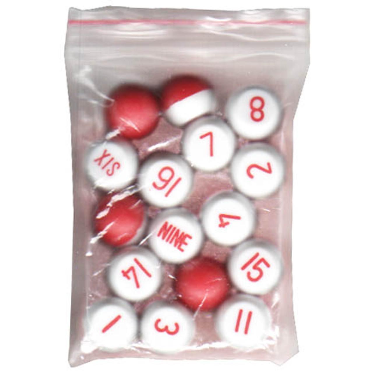 Plastic Tally Ball Set