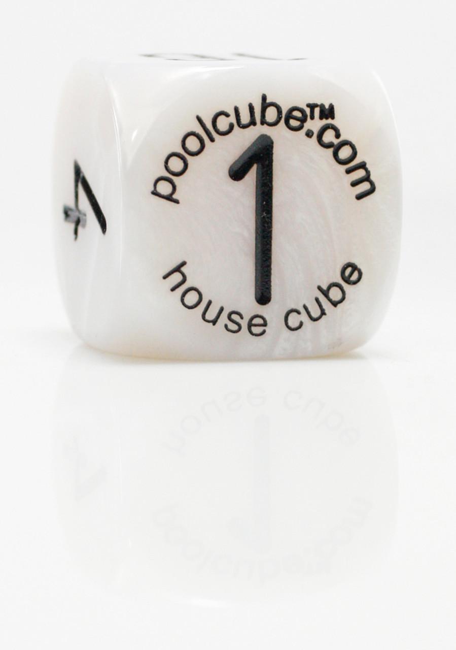 Pool Cube Game, White