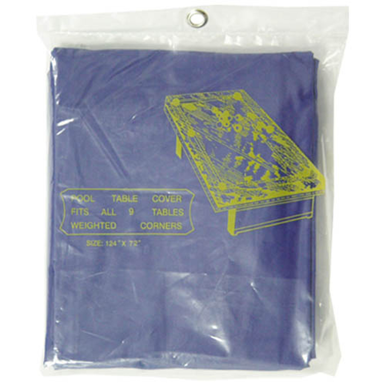 Standard Pool Table Cover, Blue