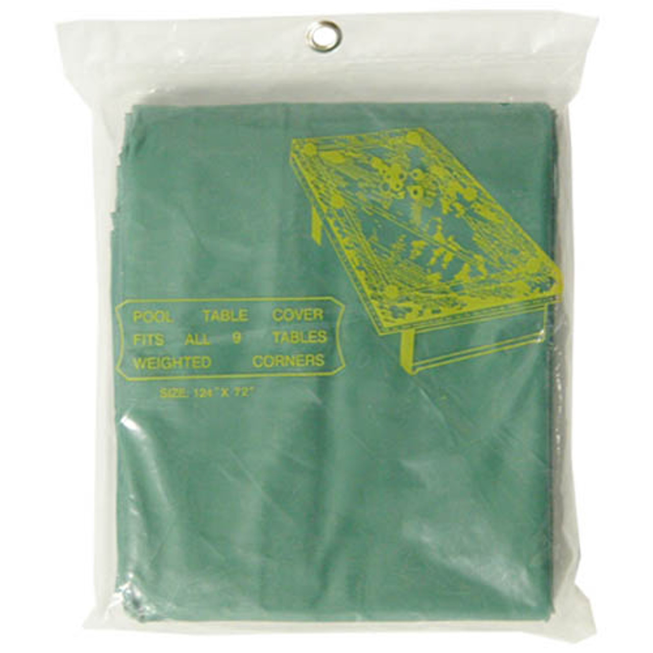 Standard Pool Table Cover, Green