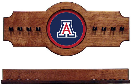 Arizona Wildcats 8 Cue Wall Rack