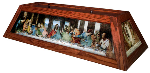 Last Supper Table Light Brick Frame