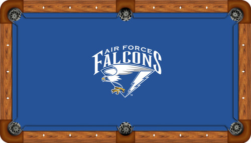 Air Force Falcons 7 foot Custom Pool Table Felt