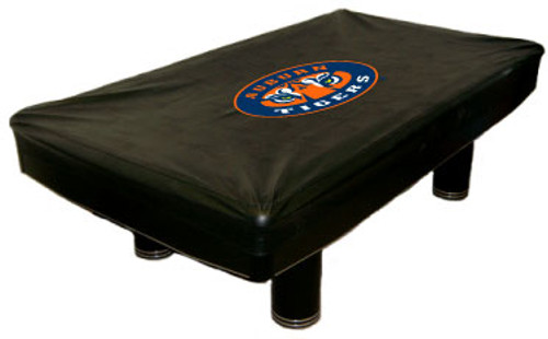 Auburn Tigers 9 foot Custom Pool Table Cover
