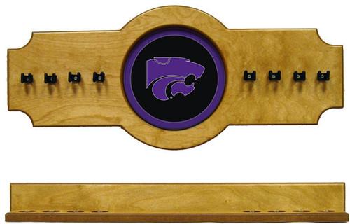 Kansas State Wildcats 8 Cue Wall Rack