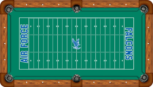 Air Force Falcons 9 foot Custom Pool Table Felt