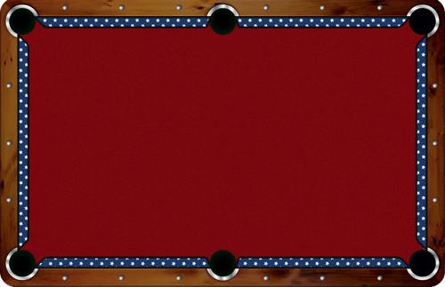 Artscape Custom Pool Table Rail Set
