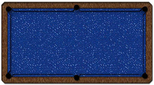 ArtScape Blue Liquid Pool Table Cloth