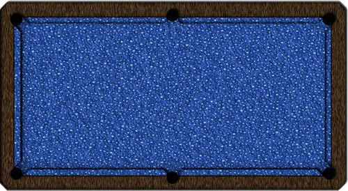 ArtScape Blue Drops Pool Table Cloth