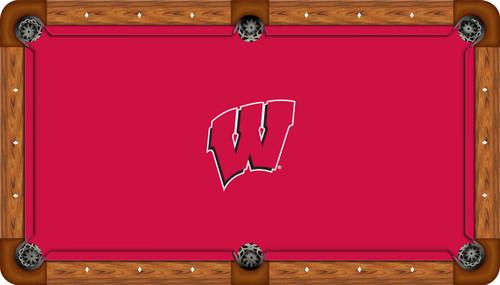 NCAA Wisconsin Badgers Billiard Table Cover