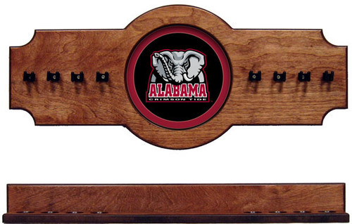 Alabama Crimson Tide 8 Cue Wall Rack