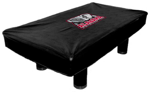 Alabama Crimson Tide 9 ft Custom Pool Table Cover