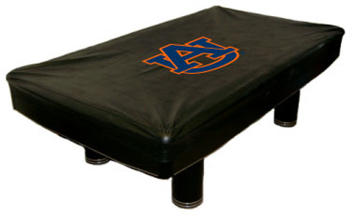 Auburn Tigers 9 ft Custom Pool Table Cover