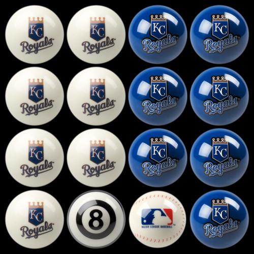 Kansas City Royals Pool Balls