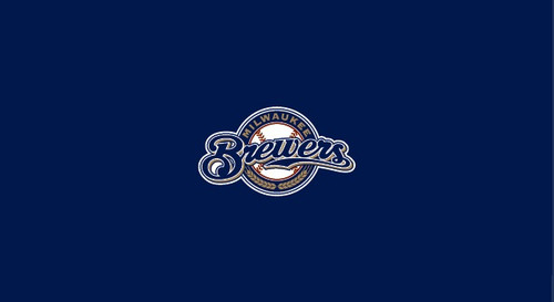 Milwaukee Brewers Pool Table Felt 8 foot table