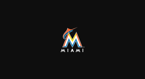 Miami Marlins Pool Table Felt 8 foot table