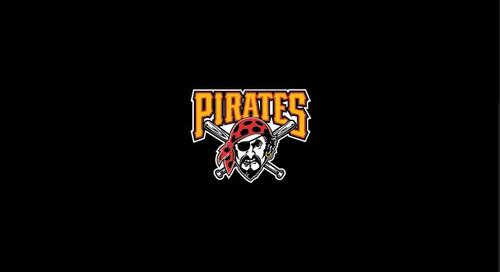 Pittsburgh Pirates Pool Table Felt 8 foot table