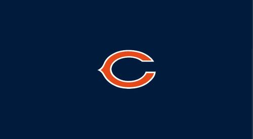 Chicago Bears Pool Table Felt for 8 foot table