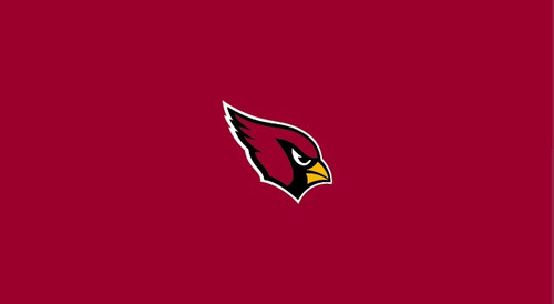 Arizona Cardinals Pool Table Felt for 8 foot table