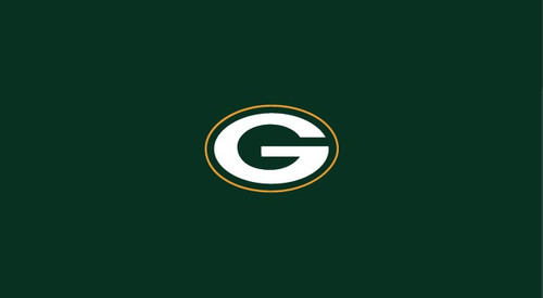 Green Bay Packers Pool Table Felt for 8 foot table