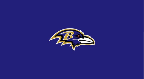 Baltimore Ravens Pool Table Felt for 9 foot table