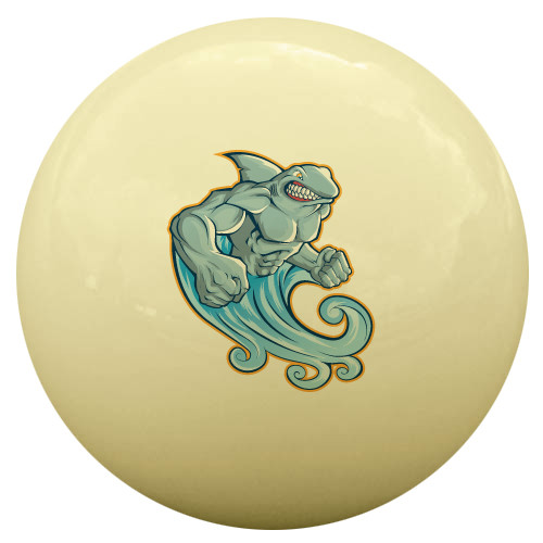 Muscle Shark Cue Ball